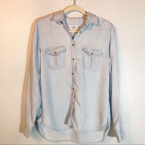 American Eagle Outfitters chambray top